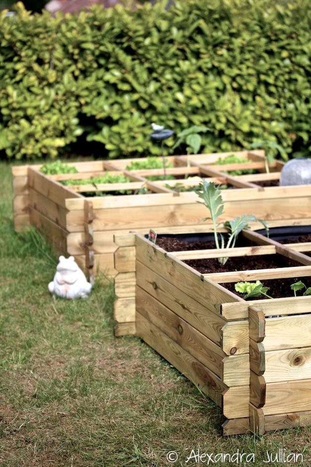 Carre potager nikola for Carre jardin
