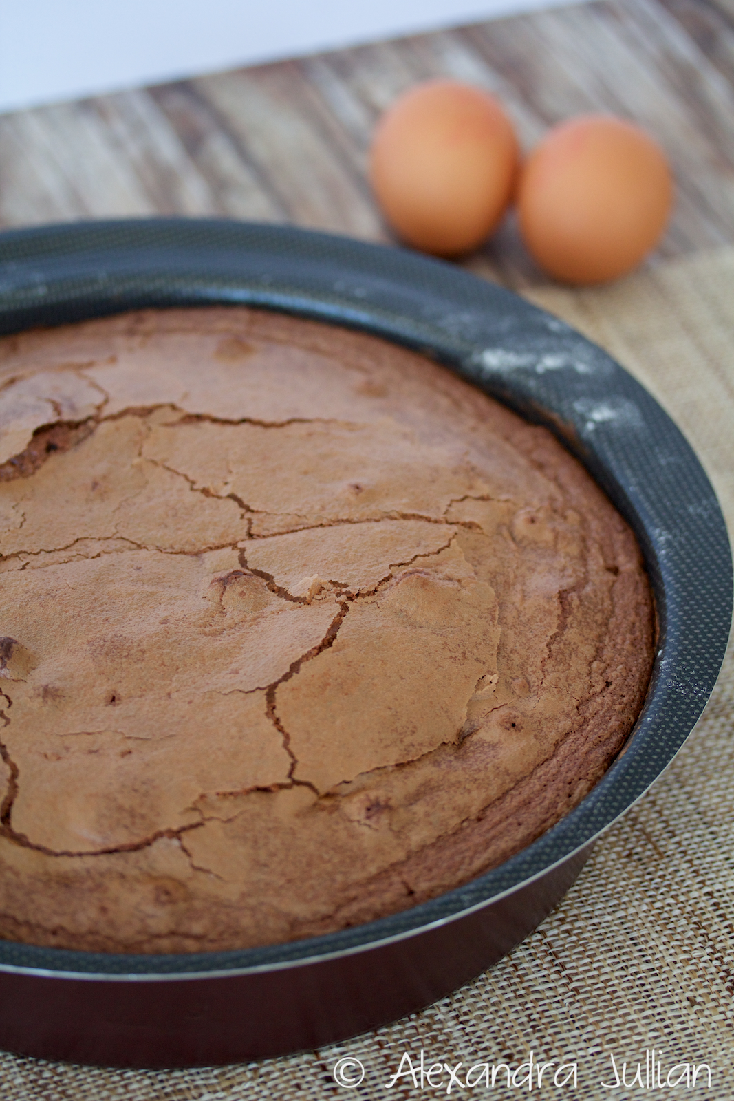 Gâteau moelleux chocolat framboise