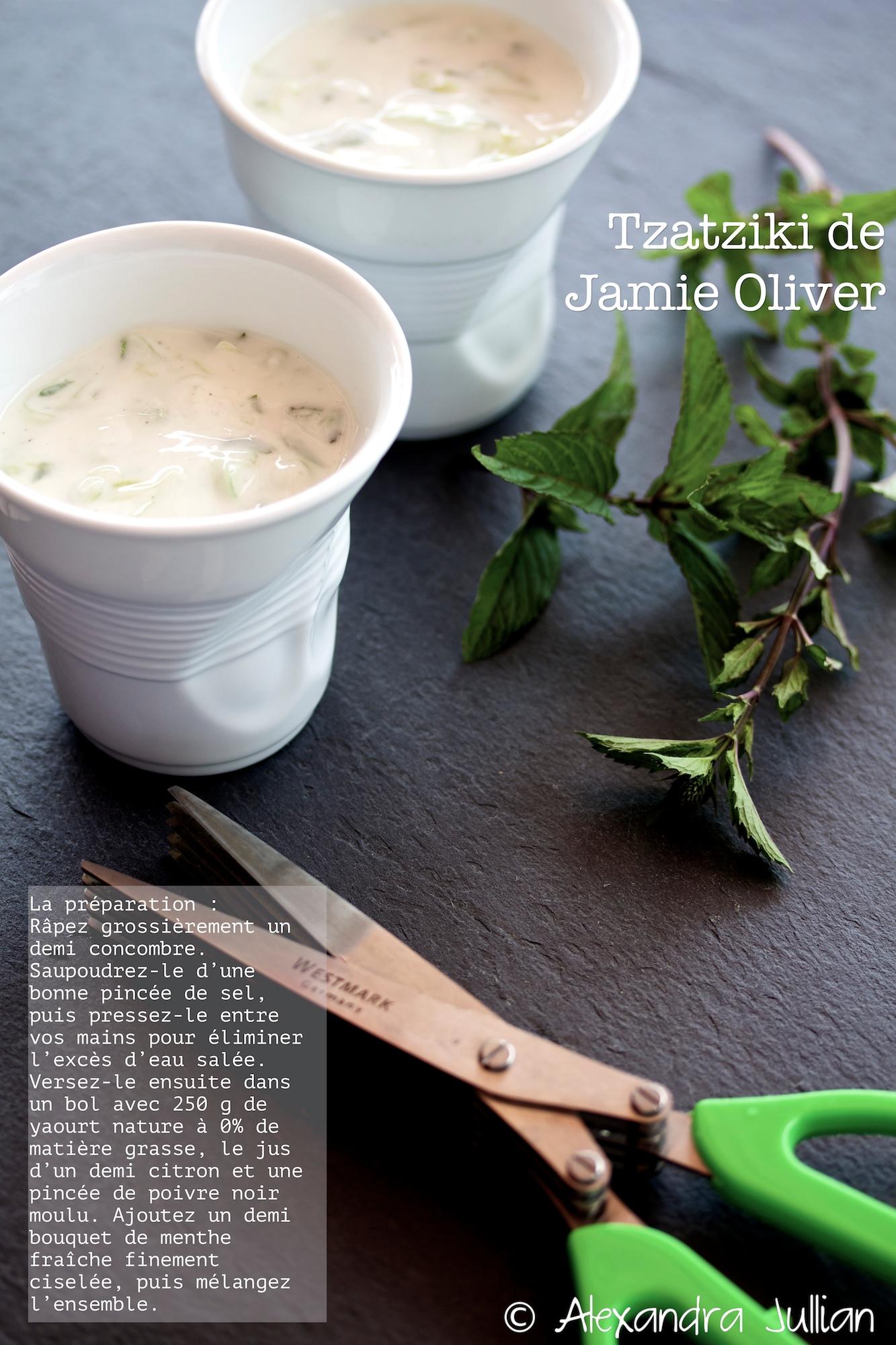 tzatziki de Jamie Oliver
